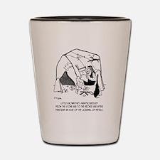 Anthropology Cartoon 1938 Shot Glass