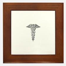 Cute Medical doctor Framed Tile