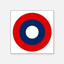 """Us Army Air Roundel Symbol Square Sticker 3"""""""