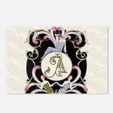 Monogram A Barbier Cabare Postcards (Package of 8)