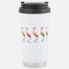 March of the Tropical F Stainless Steel Travel Mug