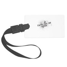 Paws Off My Music Luggage Tag