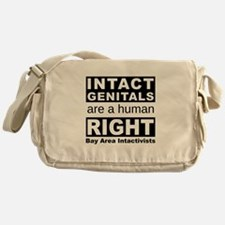 Cute Genital integrity Messenger Bag