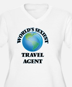 World's Sexiest Travel Agent Plus Size T-Shirt