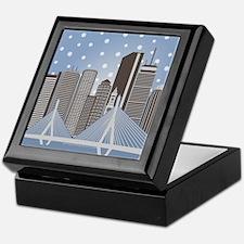 Boston Snowflakes Keepsake Box