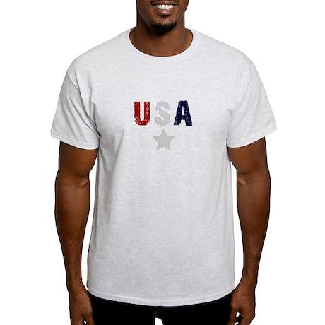USA mens shirt Light T-Shirt