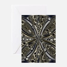 Blue Black Gold Silver Celtic Knot Greeting Cards