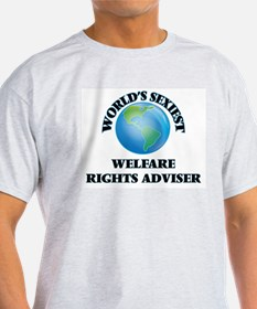 World's Sexiest Welfare Rights Adviser T-Shirt