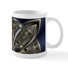 Blue Black Gold Silver Celtic Knot Mugs
