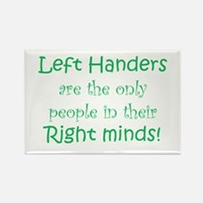 Cute Left handed Rectangle Magnet (10 pack)