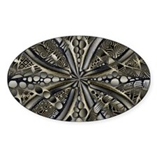 Blue Black Gold Silver Celtic Knot Decal