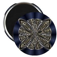 Blue Black Gold Silver Celtic Knot Magnets