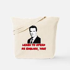 Learn to speak da english, yo Tote Bag