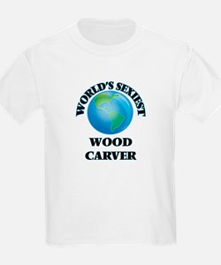 World's Sexiest Wood Carver T-Shirt