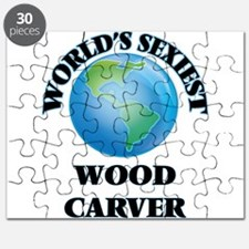 World's Sexiest Wood Carver Puzzle
