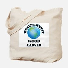 World's Sexiest Wood Carver Tote Bag