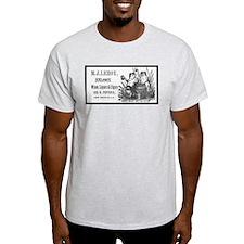 M. J. Leroy's Saloon ~ 1889 Ash Grey T-Shirt