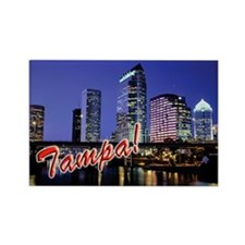 Cute Tampa Rectangle Magnet (10 pack)