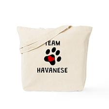 Team Havanese Tote Bag