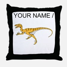 Velociraptor (Custom) Throw Pillow