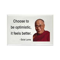 Dalai Lama 6 Rectangle Magnet (100 pack)
