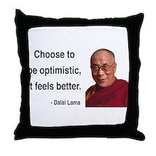 Dalai Lama 6 Throw Pillow