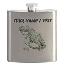 Tyrannosaurus Rex (Custom) Flask