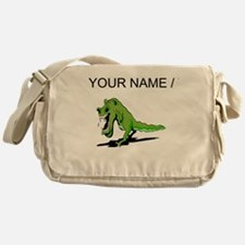 T Rex Roaring (Custom) Messenger Bag