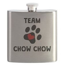 Team Chow Chow Flask