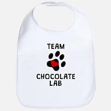 Team Chocolate Lab Bib