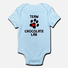 Team Chocolate Lab Body Suit