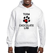 Team Chocolate Lab Hoodie