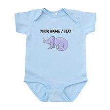 Baby Triceratops (Custom) Body Suit