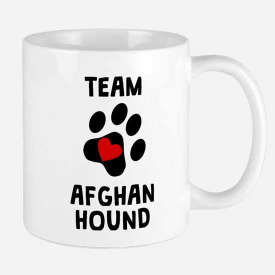 Team Afghan Hound Mugs