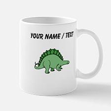 Green Stegosaurus (Custom) Mugs