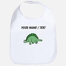 Green Stegosaurus (Custom) Bib