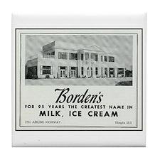 Borden's Dairy Tile Coaster