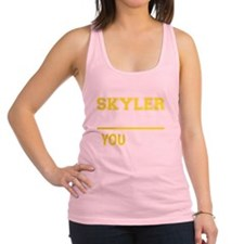 Cute Skyler Racerback Tank Top