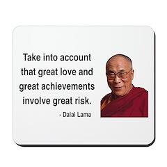 Dalai Lama 7 Mousepad