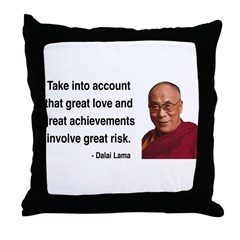 Dalai Lama 7 Throw Pillow