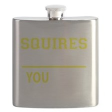 Funny Squire Flask