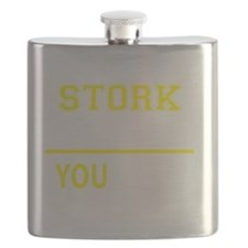Cute Stork Flask