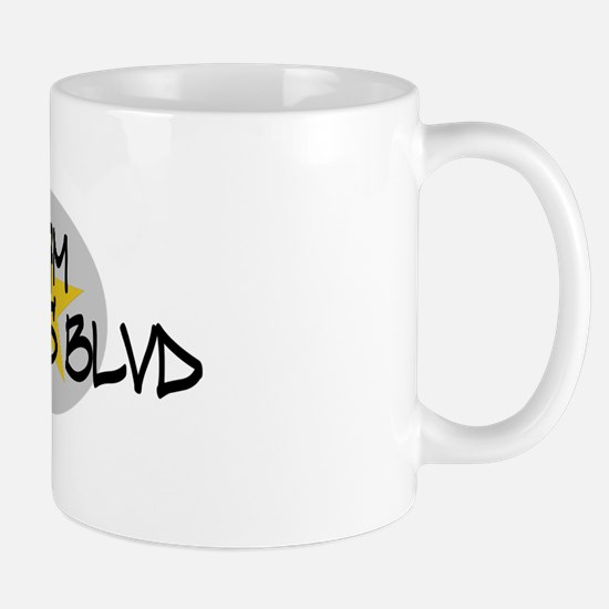 I am Queens Blvd 2 - Gold Mug