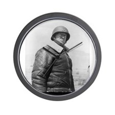 george patton Wall Clock