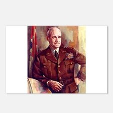 omar bradley Postcards (Package of 8)