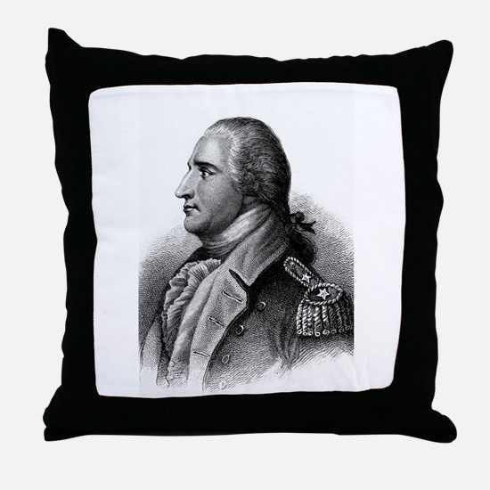 benedict arnold Throw Pillow
