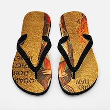 St Catherine of Alexandria Flip Flops