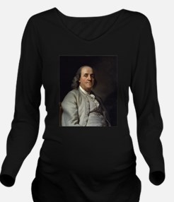 ben franklin Long Sleeve Maternity T-Shirt