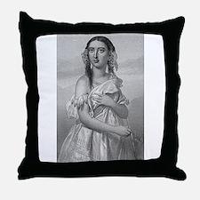 pochahontas Throw Pillow