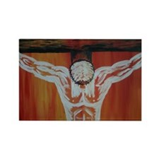 """""""Crucifixion"""" Rectangle Magnet (10 pack)"""